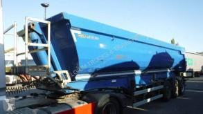 Meiller 28m3 semi-trailer used half-pipe