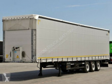 Schmitz Cargobull tarp semi-trailer CURTAINSIDER /VARIOS / LIFTED ROOF & AXLE/STANDA