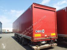 Used box semi-trailer Samro Fourgon express