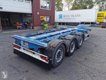 Semi remorque porte containers D-TEC FLEXITRAILER Multi 3 Assen MB - Schijfremmen - Lift-as - 09/2021APK