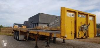 Kaiser PLATEAU EXTENSIBLE semi-trailer used flatbed