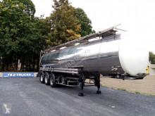 Used chemical tanker semi-trailer BSLT 3 ASSEN CITERNE IN INOX ADR 1 COMP= 33515L VERWARMBAAR!