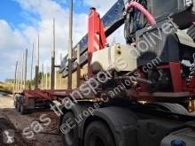 Used timber semi-trailer Billaud juin 2017