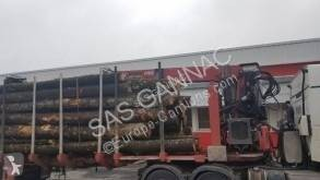 Used timber semi-trailer Billaud EXTENSIBLE