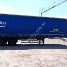 Merker semi-trailer used tautliner