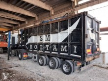 Gervasi semi-trailer used scrap dumper