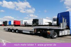 Semitrailer maskinbärare Möslein STR 3 / LENKACHSE / CONTAINER / STABIL / TOP !!!