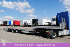 Used chassis semi-trailer Möslein STR 3 / LENKACHSE / CONTAINER / STABIL / TOP !!!