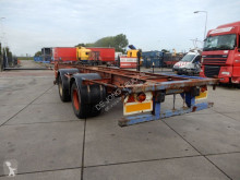 Semi remorque Pacton 40 FT / Double montage / Steel suspension porte containers occasion