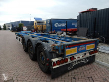 Semi remorque porte containers Renders ROC Chassis / Extendable / MB Disc / lift axle