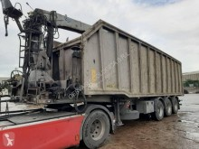 Piacenza semi-trailer used scrap dumper