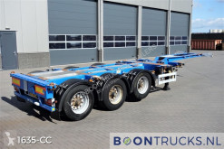 Semi remorque occasion Pacton T3-010 | 2x20-30-40-45ft HC * MULTI CHASSIS * ADR