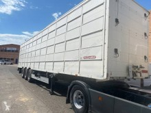 Used hog semi-trailer Pezzaioli SBA63U