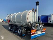 Semirimorchio D-TEC Citerne 30m3 essieux directionnels avec pompe pour lisier, lixiviat, digestat, effluents liquides cisterna nuovo