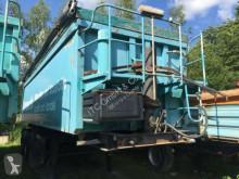 Sættevogn Reisch SKI 24 35 Kubik Mulde ske brugt