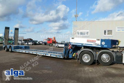Langendorf heavy equipment transport semi-trailer SATAH 20/26, Tiefbett, verbreiterbar, gelenkt