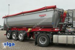 Semitrailer flak Reisch RHKS-3-SR 07, Stahl, 25m³, Vorführmulde wie NEU!