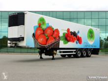 Semi remorque frigo occasion Van Hool VEDECAR CARRIER VECTOR MERCEDES AXLES DISC BRAKES