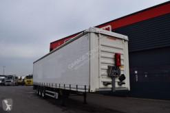 Félpótkocsi Fruehauf TAUTLINER FOSSE PORTE BOBINES CODE XL használt kábelvályúk kábeldobhoz függönyponyvaroló