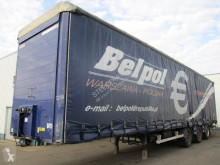Renders tautliner semi-trailer BPW , Curtainside Trailer