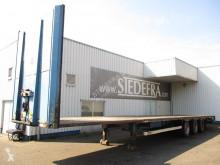Van Hool BPW , Mega Flat Trailer semi-trailer used flatbed