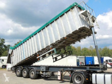 Samro Kipper 53 kubik*AluSchassi/Edelstahl* INOX* semi-trailer used tipper