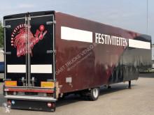 Naczepa Bulthuis GESLOTEN SEMI DIEPLADER do transportu sprzętów ciężkich używana