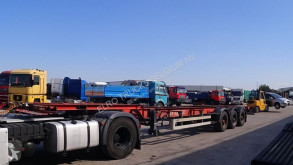 Semi remorque porte containers LAG BPW-AXLES / 40FT CONTAINER / BELGIAN