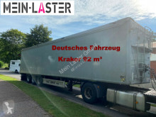 Kraker trailers moving floor semi-trailer CF 200 86 m³ Liftachse TÜV 5-21 Deutsches Fzg
