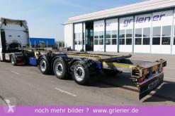 Návěs podvozek použitý Schmitz Cargobull SCF 24 G 40 EURO 20/30/40/2 x 20 fuss ADR