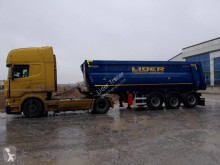 Lider trailer half-pipe semi-trailer 2021 LIDER