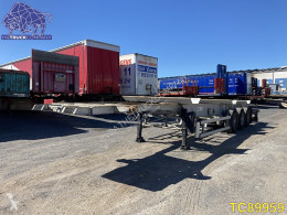 Semi reboque porta contentores Trailor Container Transport