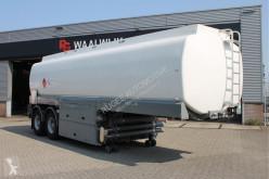 Stokota 2 asser Brandstoftank 30800 Liter 2x pomp 2 x counter semi-trailer used tanker