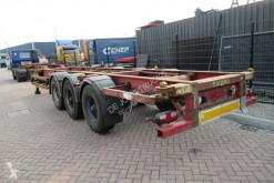 Craven Tasker Chassis / BPW Axles / 20-30-40 FT (HC) container semi-trailer used container