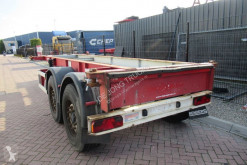 Renders 20 FT chassis / Disc brakes semi-trailer used container