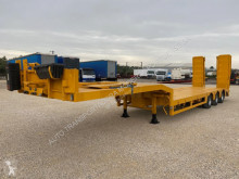 Used heavy equipment transport semi-trailer Nooteboom Semi reboque