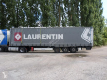 Krone PLSC semi-trailer damaged tautliner