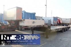 Semirimorchio trasporto macchinari Bertoja carrellone buche ribassato usato