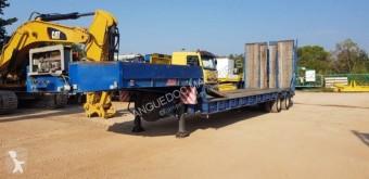 Castera 2 essieux semi-trailer used heavy equipment transport