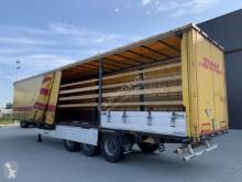 Félpótkocsi Krone 20x Bordwandsider, BPW, drumbrakes használt függönyponyvaroló