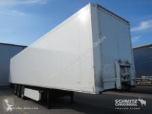 Semitrailer transportbil Krone Trockenfrachtkoffer Standard Doppelstock