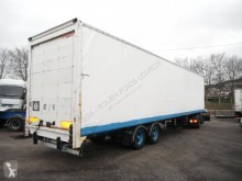 Used box semi-trailer Trouillet FOURGON