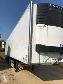 Félpótkocsi Lecitrailer használt egyhőmérsékletes hűtőkocsi