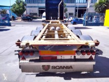 Semitrailer containertransport begagnad Guillen Ibertrailer- Chasis Valencia