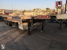 Leciñena SRG 3ED CUELLO CISNE 3 EJES semi-trailer used flatbed