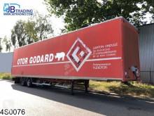 Semitrailer Samro gesloten bak Mega, Jumbo transportbil begagnad