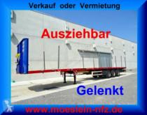 Semitrailer maskinbärare nc 3 Achs Tele- Sattelauflieger, 4,20 m ausziehbar