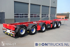 Broshuis 2CONNECT-5AKCC | NIEUW/ONGEREGISTREERD * 4 x LIFTAS * 3 x STUURAS semi-trailer new container