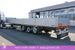 Schmitz Cargobull dropside flatbed semi-trailer SPR 24/ BAUSTOFF / ALU / 2 x LIFT/ 820 mm BW