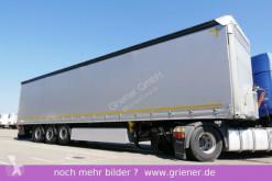Náves Schmitz Cargobull SCS 24 /GARDINE LASI / LIFTACHSE / WIE NEU !!!!! valník s bočnicami a plachtou ojazdený